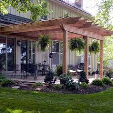 Backyard Patio Landscaping Ideas Patio And Pergola Patio Designs And Ideas Pinterest