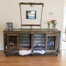 How To Build A End Table Dog Crate by Beautiful Indoor Wooden Dog Kennels And Dog Crate Furniture