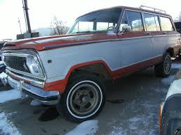 classic jeep wagoneer for sale 1975 jeep wagoneer custom sport utility 4 door 6 6l classic jeep