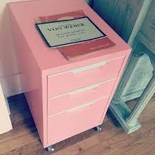 Pink Filing Cabinet Pink Filing Cabinet Home Office Organization Farmhouse Desc