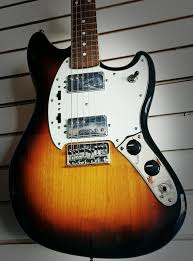 pawn shop fender mustang fender pawn shop mustang special sunburst