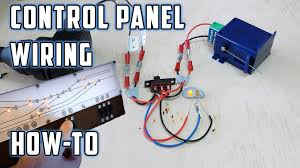 control panel wiring with led u0027s how to model railroads youtube