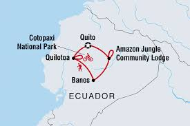 Ecuador On World Map by Ecuador Tours U0026 Travel Intrepid Travel Us