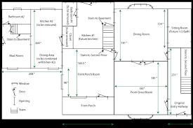 House Plan Measurements
