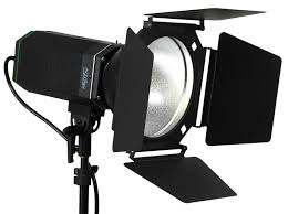 Photography Lighting Alzo 3000 High Intensity Led And Photo Light With Barndoor