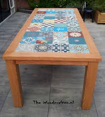 Tiled Patio Table Pin By Woodcrafter Robert On Woodcrafters Style Pinterest