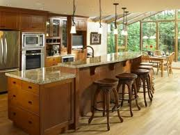 kitchen island with breakfast bar and stools kitchen and decor
