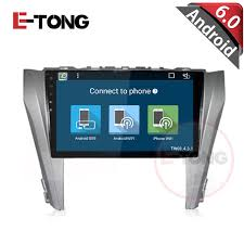 connect android to car stereo usb 10 1 android 6 0 car stereo dvd player for toyota camry 2014 with