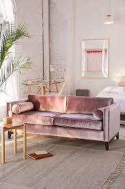 velvet sofa set piper petite velvet sofa urban outfitters