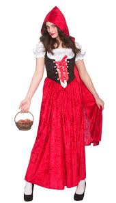 deluxe little red riding hood ladies costume book day