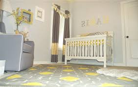 Yellow And Grey Nursery Decor Yellow And Grey Baby Nursery Bedroom Baby Nursery Ideas On