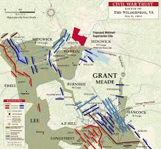 Map Of The United States During The Civil War by The Wilderness Civil War Trust