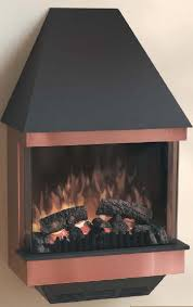 Wall Mounted Fireplaces Electric by The Ewm Copper Dimplex Wall Mounted Electric Fireplace