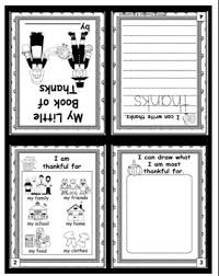 free language arts lesson my thankful mini book go to the