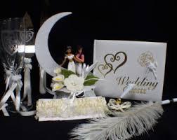 snoopy u0026 belle dog wedding cake topper lot glasses knife set