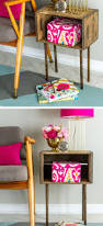 25 diy home decor ideas on a budget craft or diy diy wooden crate side table diy home decor ideas on a budget diy home