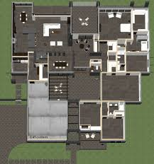 the studio400 plan is a single room modern guest house plan with a contemporary courtyard house plan 61custom modern house plans