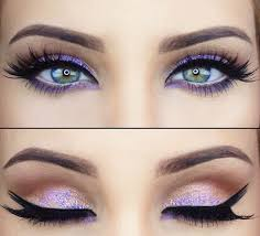 purple eye color the best makeup for your eye color glam gowns blog