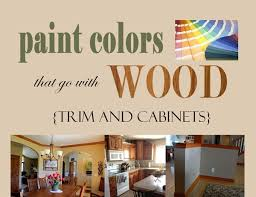 neutral paint colors that pair well with wood trim accents