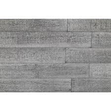 3 wood wall 1 4 in x 5 in x 2 ft gray reclaimed smart paneling 3d barn wood