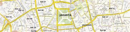 Map Of Jakarta Download Map Jakarta