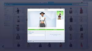 create a sim is bugged since the patch can u0027t save sims in my