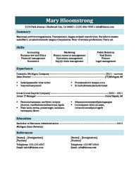 What Is A Traditional Resume Simple Resume Templates 75 Examples Free Download
