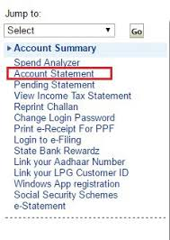 how to download sbi bank statement online in pdf format
