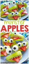halloween monster apples parenting chaos