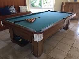 brunswick monarch pool table brunswick pool table 1918 monroe with monarch cushions ebay