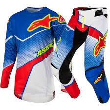 yamaha motocross boots alpinestars 2017 new mx techstar venom le red blue white motocross
