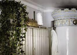 floral plants in shabby chic bathroom design dweef com bright