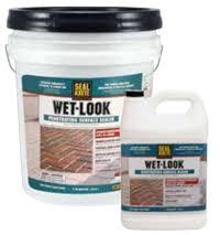 Wet Look Patio Sealer Reviews Seal Krete Wet Look Sealer For Concrete Patios