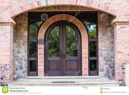 home interior arch designs front door home arch wood stock photography image 32386802