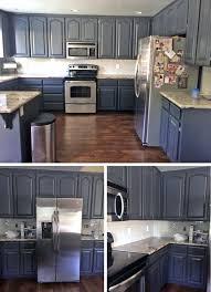 milk paint colors for kitchen cabinets chic queenstown gray kitchen makeover kitchen design diy
