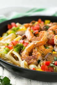 Dinner Ideas With Shrimp And Pasta Cajun Shrimp And Sausage Pasta Dinner At The Zoo