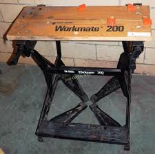 black u0026 decker workmate 200 folding work bench