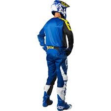 kids motocross gear combo 2018 fox racing youth 180 race gear kit blue sixstar racing