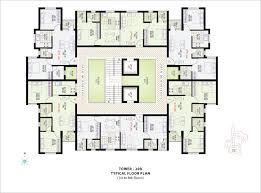 Typical Floor Plans Of Apartments Top Leaders Realty Lotus Pond Chennai Anna Salai Residential
