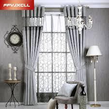 rideaux pour chambre à coucher solide couleurs blackout rideaux pour la chambre à coucher gris