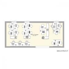 bureau paysager bureau paysager plan 1 pièce 43 m2 dessiné par j
