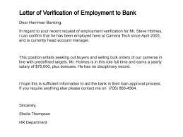 Certification Letter For Address Proof Letter Of Verification Of Employment