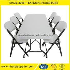 plastic rectangular outdoor table china durable plastic folding rectangular table wholesale china