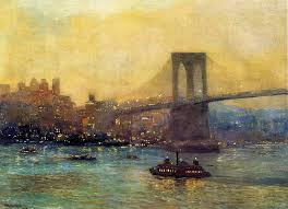 Impressionist Landscape Painting by Edward Willis Redfield Impressionist Landscape Painter Tutt