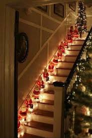 Banister Christmas Ideas Pin By Lizette Pretorius On Christmas Stair Cases Pinterest