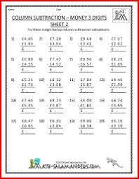 column addition multi addends 4th grade addition worksheets