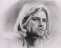 pencil portrait drawing of kurt cobain how to draw easy com