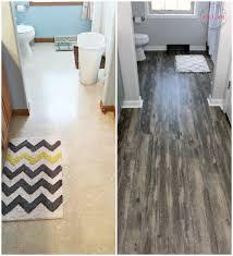 Budget Bathroom Ideas Farmhouse Style Fixer Upper Bathroom On A Budget Flooring Ideas