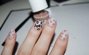 easy leopard print nails diy hello gwen