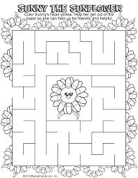 daisy yellow petal maze makingfriendsmakingfriends